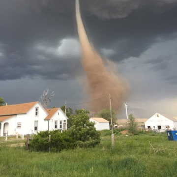 IMAGE: Colorado funnel cloud