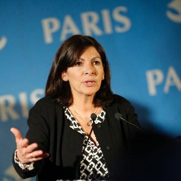 Image: Mayor of Paris Anne Hidalgo