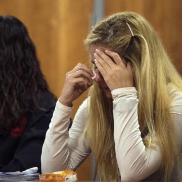 Image: Trial against Slovenian model Maria Kukucova