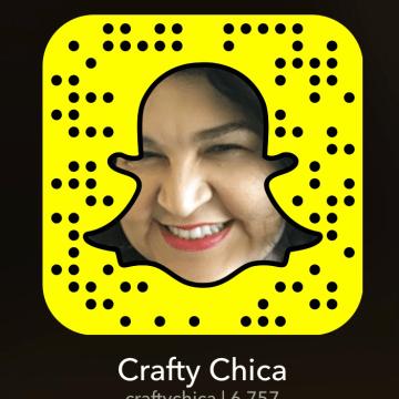 @CraftyChica on Snapchat.