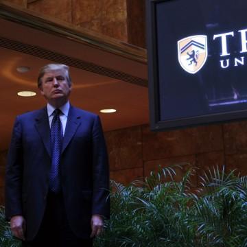 IMAGE: Launch of Trump University