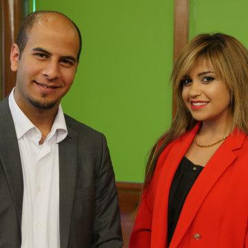 Image: Waad Qannam and Maeme Adawe