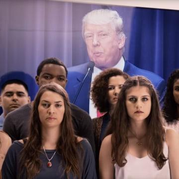Image: Donald Trump Tom Steyer ad