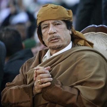 Image: Moammar Gadhafi (Ismail Zitouny /Reuters file)