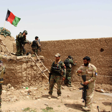 Image: Afghan security forces operation against Taliban