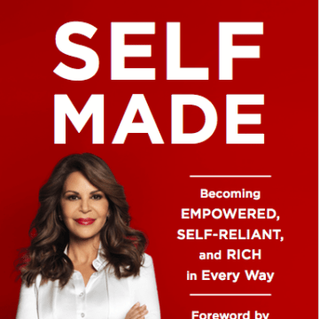 Cover of 'Self Made: Becoming Empowered, Self-Reliant, and Rich in Every Way,' by Nely Galan.