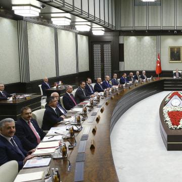 Image: Turkey cabinet meeting