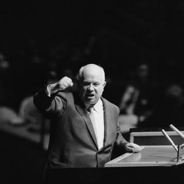 Image: Soviet Premier Nikita Khrushchev