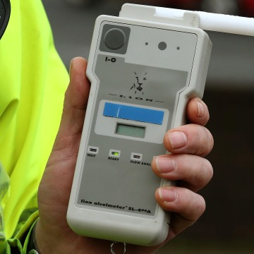 Reduced drink drive limit