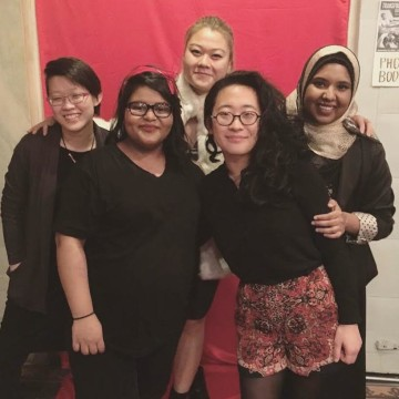 Angel Sutjipto, Manny Yusuf, Sulgi Cho, Jenny Lee, and Israt Audry