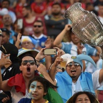 Argentina against Chile Copa America