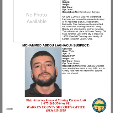 Image: Blue Alert for Mohammed Abdou Laghaoui
