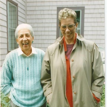 Antonia Pantoja (left) and Wilhelmina Perry (right) in Boston.