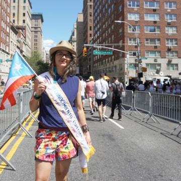 Karina Claudio Betancourt, the director of community engagement in New York City