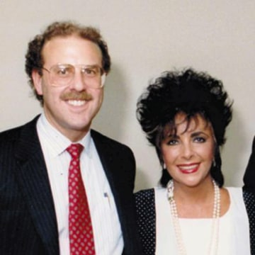 Dr. Gottlieb with Elizabeth Taylor