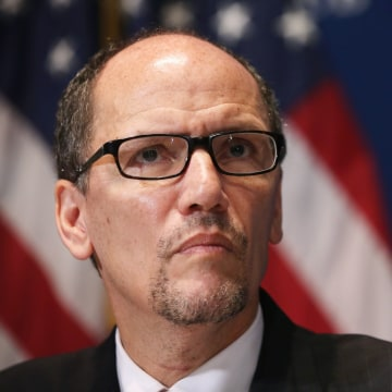 Image: Labor Secretary Thomas Perez Delivers Economic Address At The Nat'l Press Club