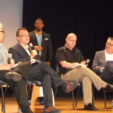 """Panel discussion """"Recovering Latinx LGBT History"""" in Washington, D.C., June 16, 2016."""
