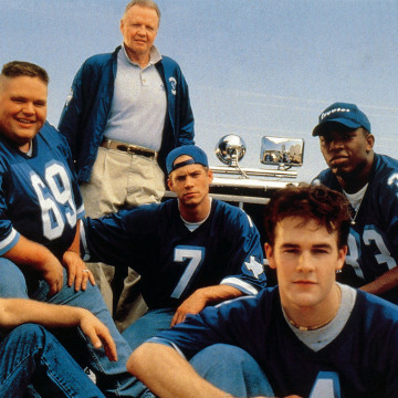 Image: The cast of Varsity Blues