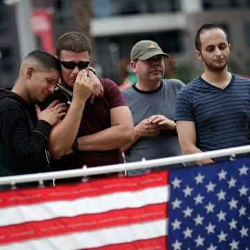 Image: Orlando Continues To Mourn The Mass Shooting At Gay Club That Killed 49