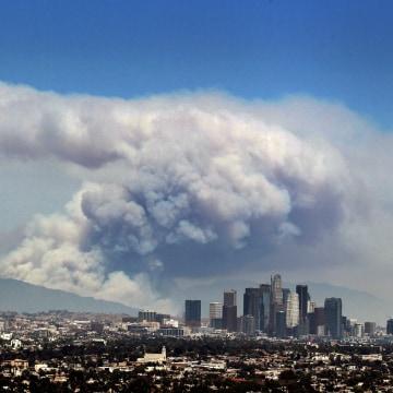Image: Los Angeles fire