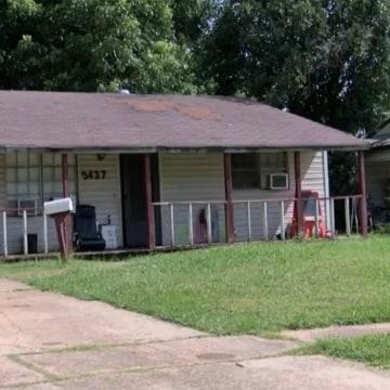 Image: House where twins lived