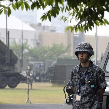 Image: Japan missile interceptor unit