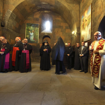 Image: Pope Francis visits Armenia