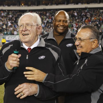Image: Former Philadelphia Eagles Head Coach Buddy Ryan