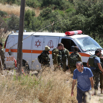 Image: Attack in Kiryat Arba