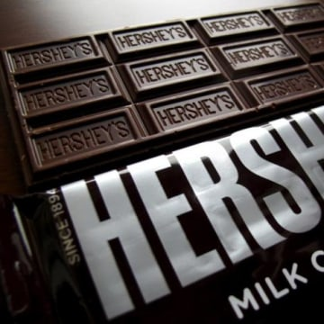 File photo of Hershey's chocolate bars in Encinitas