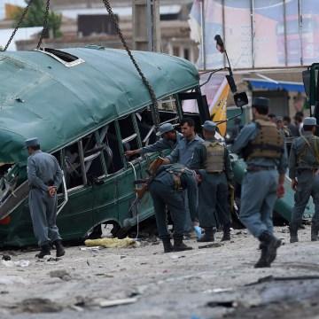 Image: AFGHANISTAN-UNREST-TALIBAN-ATTACK