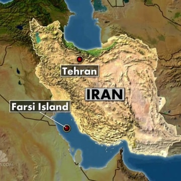 IMAGE: Map of U.S.-Iran confrontation