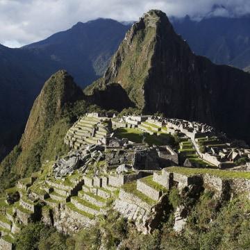Image: File photo shows Inca citadel of Machu Picchu in Cusco