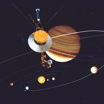 Image: Voyager 2 spacecraft