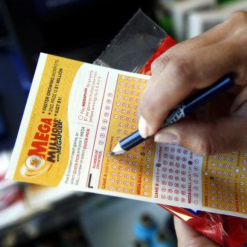 IMAGE: Mega Millions lottery ticket