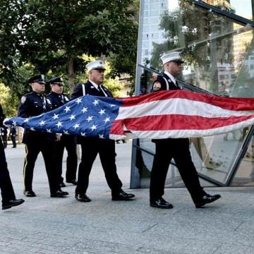 IMAGE: 9/11 anniversary police memorial