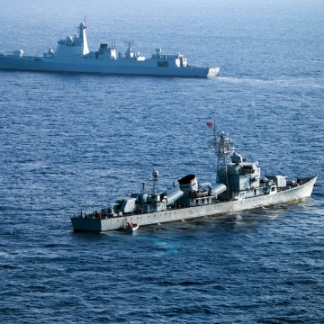 Image: China's South Sea Fleet