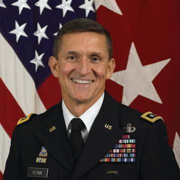 Image: Retired Lt. Gen. Michael T. Flynn