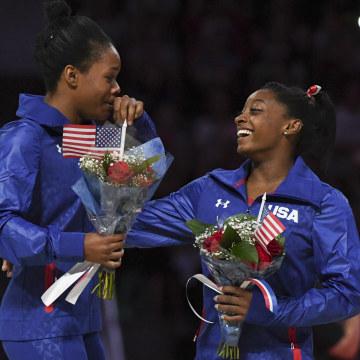 Image: Gymnastics: U.S. Olympic Team Trials - Womens Gymnastics
