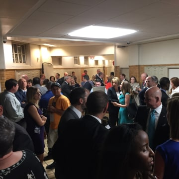 IMAGE: Little Rock graduation ceremony disrupted