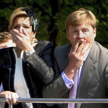 IMAGE: Princess Maxima and Prince Willem Alexander