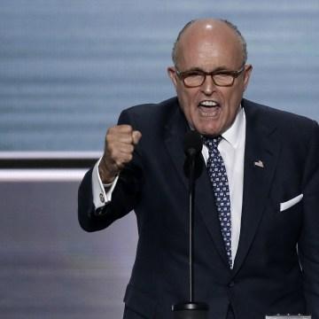 Rudy Giuliani at RNC