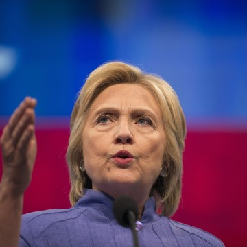 Image: Hillary Clinton Addresses American Federation Of Teachers Convention