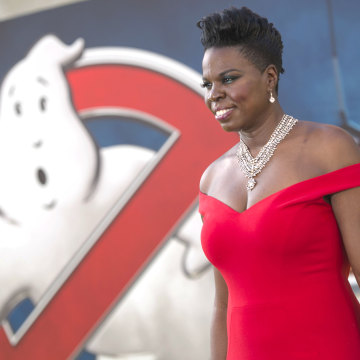 """Image: Actress Leslie Jones attends the Los Angeles Premiere of """"Ghostbusters"""" in Hollywood"""