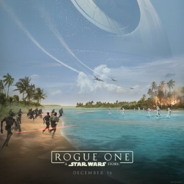 Rogue One: A Star Wars Story starring Diego Luna Movie Poster