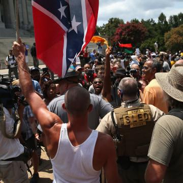 Ku Klux Klan Holds Rally Outside South Carolina Statehouse