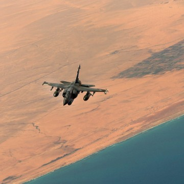 Image: French Air Force Refueling C.135 Enforcing The No-Fly Zone On Libya