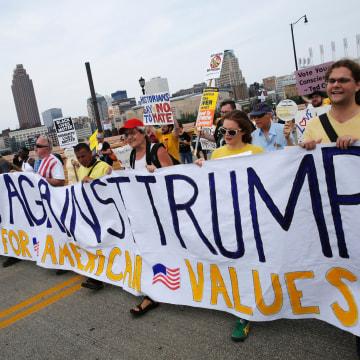 Image: US-VOTE-REPUBLICANS-CONVENTION-PROTEST