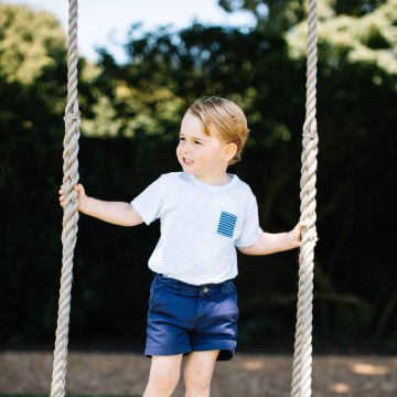 Image: Prince George's third birthday