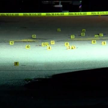 Image: Club Blu shooting aftermath